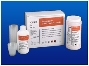 Akryl Premium - 1000g + 500ml Lang Dental