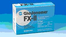 FX - II Shofu - glassjonomer cement ( 15g + 8ml )