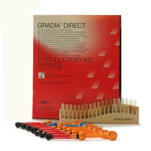 Gradia Direct - 7 x 2,7ml (Introductory Kit) + strzykawka Gradii + G-Bond Gratis
