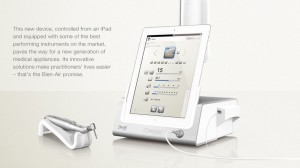 iCHIROPRO Bien Air - mikrosilnik implantologiczny i iPAD Apple